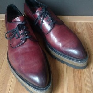 Pre-owned Men's PRADA Cordovan Shoes Calature Uomo